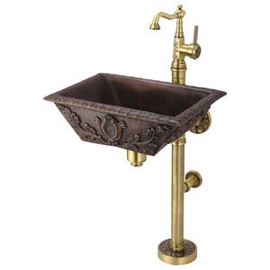 Медная раковина Bronze de Luxe 10111