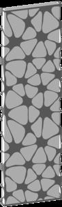 Дизайн-радиатор Varmann Solido SL 2000.530, с декоративной вставкой