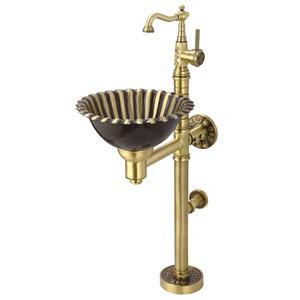 Медная раковина Bronze de Luxe 10106
