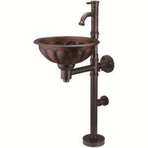 Медная раковина Bronze de Luxe 10113 AORB