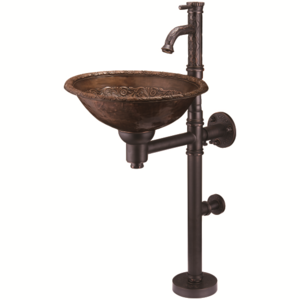 Медная раковина Bronze de Luxe 10114 AORB