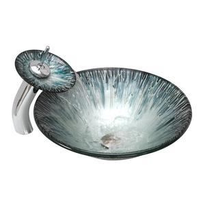 Раковина из стекла Bronze de Luxe T12*Φ450*H135mm