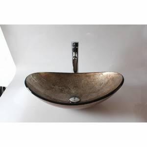 Раковина из стекла Bronze de Luxe T12*L540*W360*H165mm