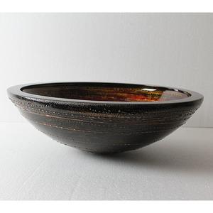 Раковина из стекла Bronze de Luxe T25*Φ410*H130mm