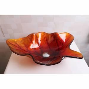 Раковина из стекла Bronze de Luxe T12*L590*W380*H155mm