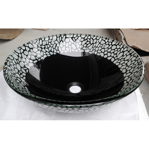 Раковина из стекла Bronze de Luxe T12*Ф420*H145mm