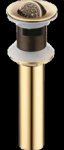 Слив для раковины Bronze de Luxe «Узоры»