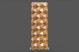 Дизайн-радиатор Anit DECORATIVE 1500 мм 7 секций