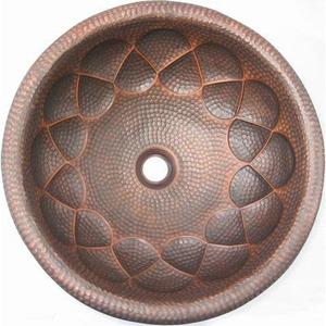 Медная раковина Bronze de Luxe 42х15/36,8х15