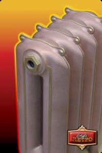 Чугунный радиатор Retro Style TELFORD 650
