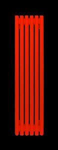 Радиатор стальной трубчатый WH Round  2500 В -11 сек