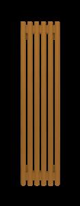 Радиатор стальной трубчатый WH Round  750 В -13 сек