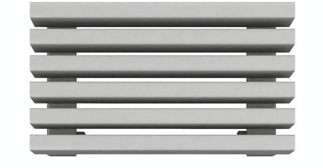 Радиатор стальной профильный WH Steel  500 Г -9 секции