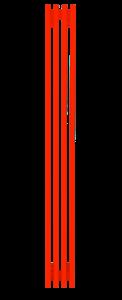 Радиатор стальной трубчатый WH Steel  1250 В -10 сек